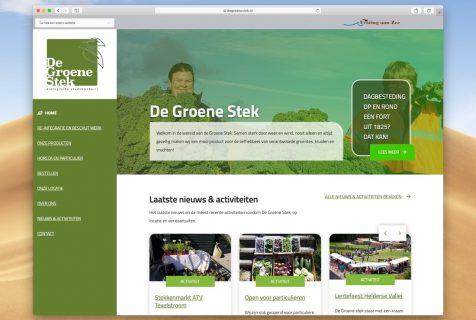 website groene stek den helder